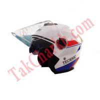 کلاه ایمنی موتورسیکلت با عینک